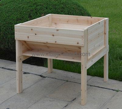 Raised Garden Beds, Garden Planter Wagons, Wooden Planter Boxes