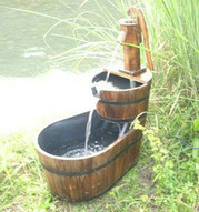 barrel water fountains