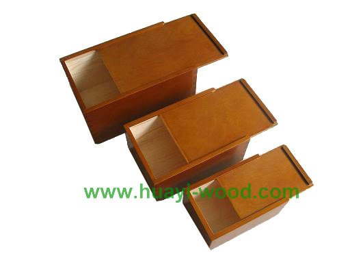 Nested Packing Wooden Boxes
