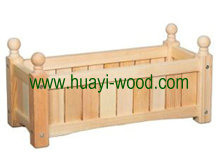 wooden flower boxes solid wood made