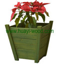 victor wooden planter boxes
