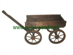 wooden wagons