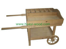outdoor wagon planters