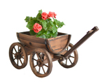 garden wagon planter carts