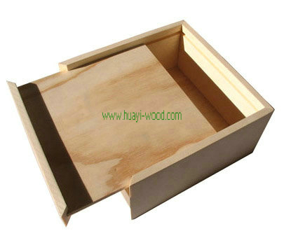 Unfinished Wooden Boxes, Natural Wood Box